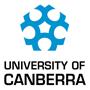 The University of Canberra logo