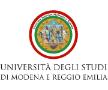 Università degli Studi di Modena e Reggio Emilia logo